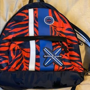 A limited edition of a Michael Kors backpack